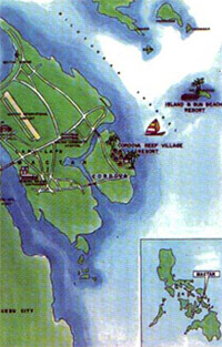 Island & Sun Beach Resort Map