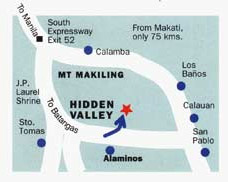 Hidden Valley Springs Map