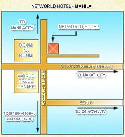 Networld Hotel Manila Map