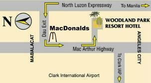Woodland Park Resort Hotel Map