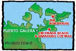 Boathouse Puerto Galera Map