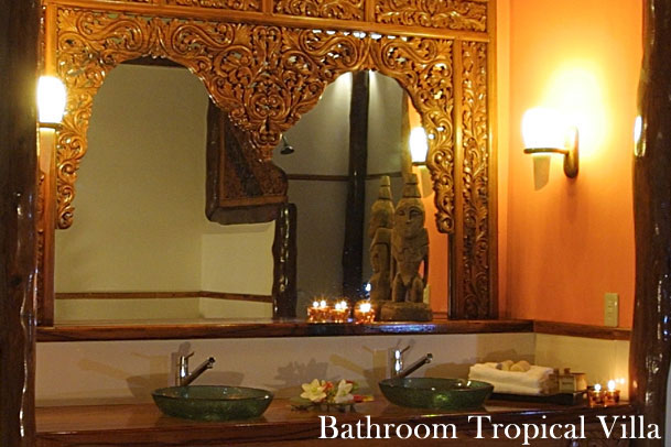 Pansukian Tropical Resort Bathroom