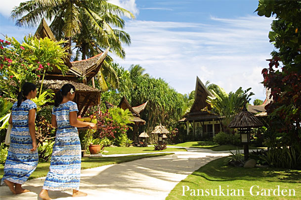 Pansukian Tropical Resort Graden