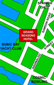 Grand Seasons Hotel Map